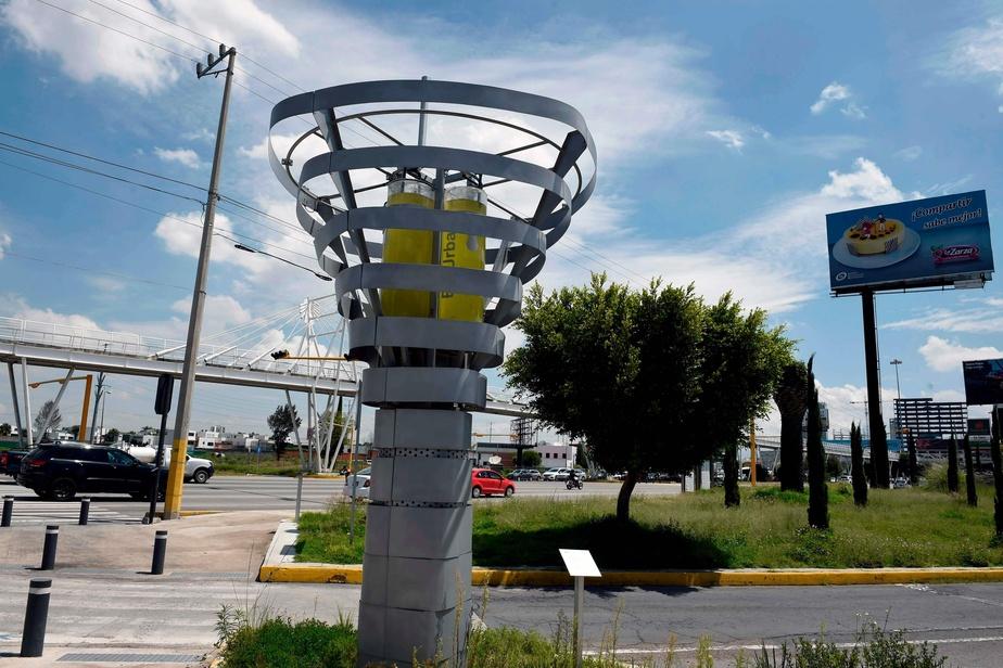 Des arbres artificiels purifient l'air de villes Mexicaines !