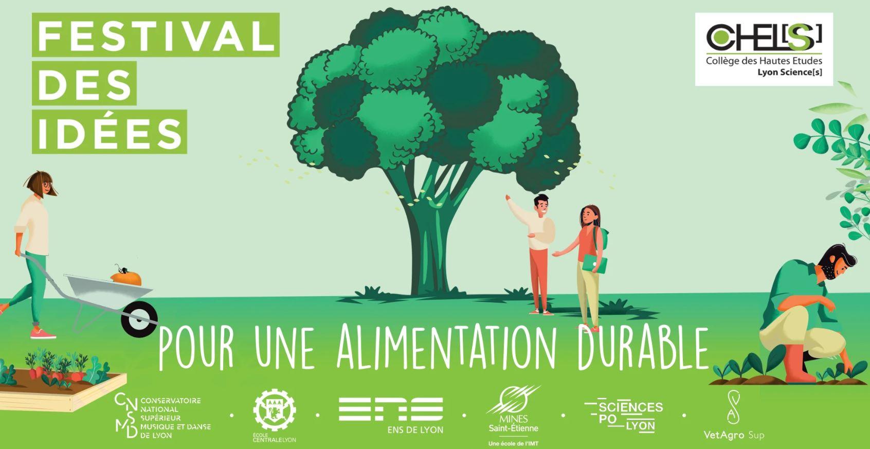 Le Festival des Idées à LYON – Pour une alimentation durable