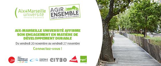 La semaine Agir Ensemble à Aix-Marseille
